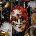 Venezian Masks by Viviana Puello Villa