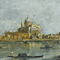 Venice. A View Of The Church Of San Giorgio Maggiore by Giacomo Guardi