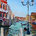 Venice  Aspetando by Ylli Haruni