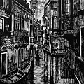 Venice At Night by Lauren Ullrich
