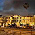 Venice Beach. Golden Sunset by Sofia Metal Queen