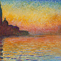 Venice By Twilight by Claude Monet