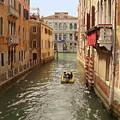 Venice Canal 2 by Karen Zuk Rosenblatt