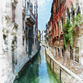 Venice Canal by Diana Van