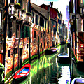 Venice Canal by  Fli Art
