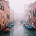 Venice Canal I by Kathy Schumann