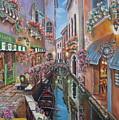 Venice Canal Reflections by Elizabeth Gomez