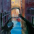 Venice Canal by Robert Bissett