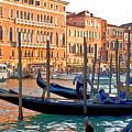 Venice Canalozzo Illuminated by Heiko Koehrer-Wagner