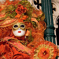 Venice Carnival Mask Italy by Amos Gal