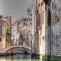 Venice Channelss by Yury Bashkin