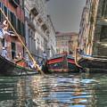 Venice Channelsss by Yury Bashkin