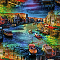Venice Coming And Going by Ron Fleishman