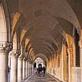 Venice - Doge's Palace Arcade by Eden Breitz