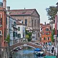 Venice Double Bridge by Heiko Koehrer-Wagner