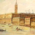 Venice From Grand Canal by Nicholas Minniti