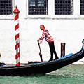 Venice Gondola Series #5 by Dennis Cox
