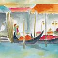 Venice Gondolas by Pat Katz