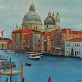 Venice Grand Canal I by E Colin Williams ARCA
