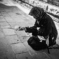 Venice Gypsy Woman by Carrie Kouri