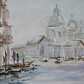 Venice Impression Vi by Xueling Zou