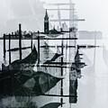 Venice Italy Double Exposure On Film  by John McGraw