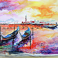 Venice Italy Gondola Ride by Ginette Callaway