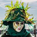 Venice Mask 39 2017 by Wolfgang Stocker