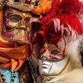 Venice Mask 40 2017 by Wolfgang Stocker