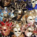 Venice Masks by John J O'Hara