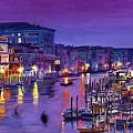 Venice Nights by David Lloyd Glover
