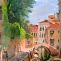 Venice Ponte Moro by Ylli Haruni