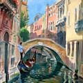 Venice Ponte Widmann by Ylli Haruni