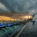 Venice Promenade by Mike Houghton BlueMaxPhotography