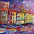 Venice Reflections Celebrating Italy Painting by Ginette Callaway