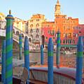 Venice Rialto Bridge by Heiko Koehrer-Wagner