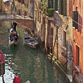 Venice Ride With Gondola by Heiko Koehrer-Wagner