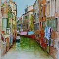 Venice Washing Day by Dai Wynn