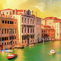 Venice Water Taxis by Dominic Piperata