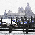 Venice Waterfront by Dennis Cox