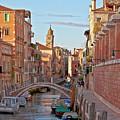 Venice Waterway by Heiko Koehrer-Wagner