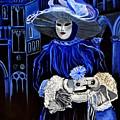 Venitian Mask  by Pol Ledent