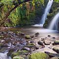 Vennford Waterfall On Dartmoor by Pete Hemington