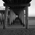 Ventnor Pier B/w by Jennifer Ancker