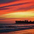 Ventura California Sunset Portrait by Kyle Hanson