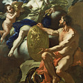 Venus At The Forge Of Vulcan by Francesco Solimena