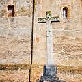 Vera Cruz Cross by Joan Carroll