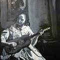 Vermeer Guitar Player by Richard Le Page