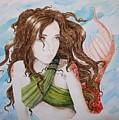 Vermillion Mermaid by Theresa Higby