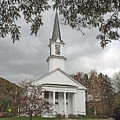 Vermont Church by Barbara McDevitt
